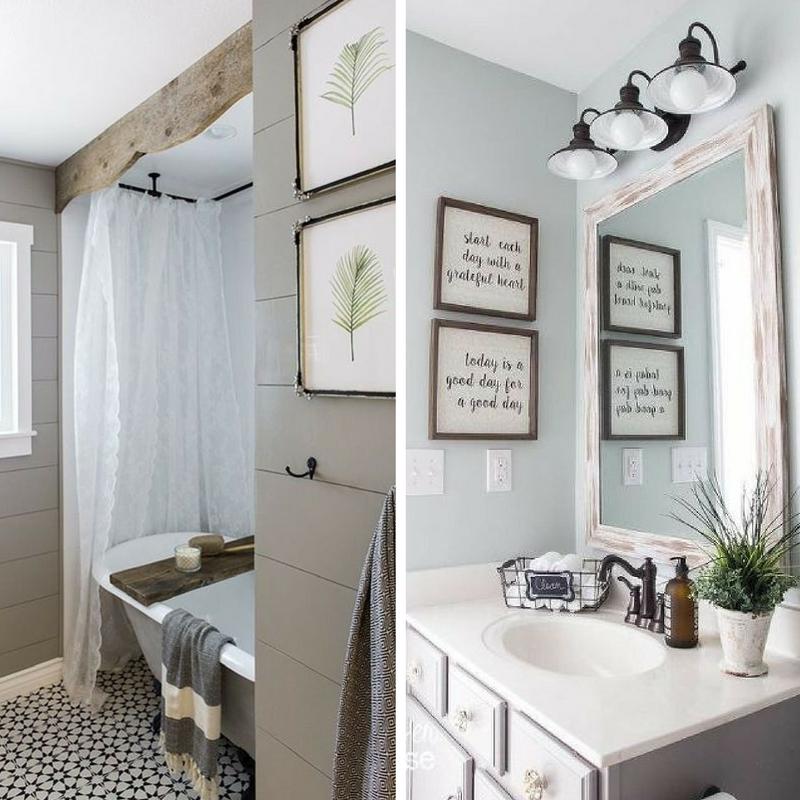Anche il bagno vuole il suo stile stili e tendenze per arredarlo arreda con sara - Quadri per il bagno ...