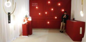 Le luci di CTLights in esposizione al Salone Satellite del Salone del Mobile di Milano 2018