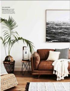 Complementi e arredi colorati dal design elegante e raffinato contraddistinguono lo stile boho chic