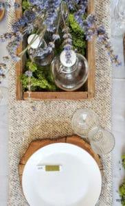 Come apparecchiare la tavola in estate in modo originale con elementi di tipo naturale