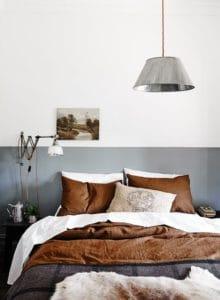 Una camera da letto in stile industrial vintage per la mia nuova casa