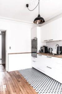 Cucina in stile vintage industrial