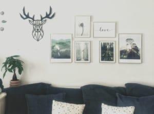 Wall gallery per decorare le pareti di casa