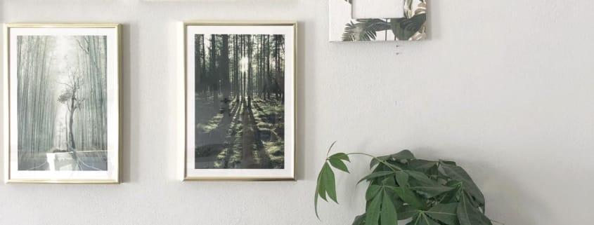 Cornice portafoto per personalizzare la tua wall gallery