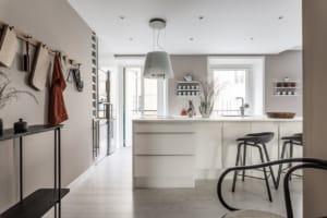 Interior design per un appartamento dallo stile nordico