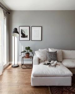Abbina il colore grigio negli interni