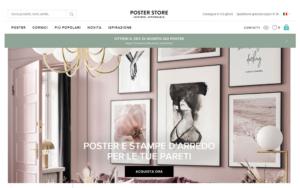 Posterstore per acquistare stampe online